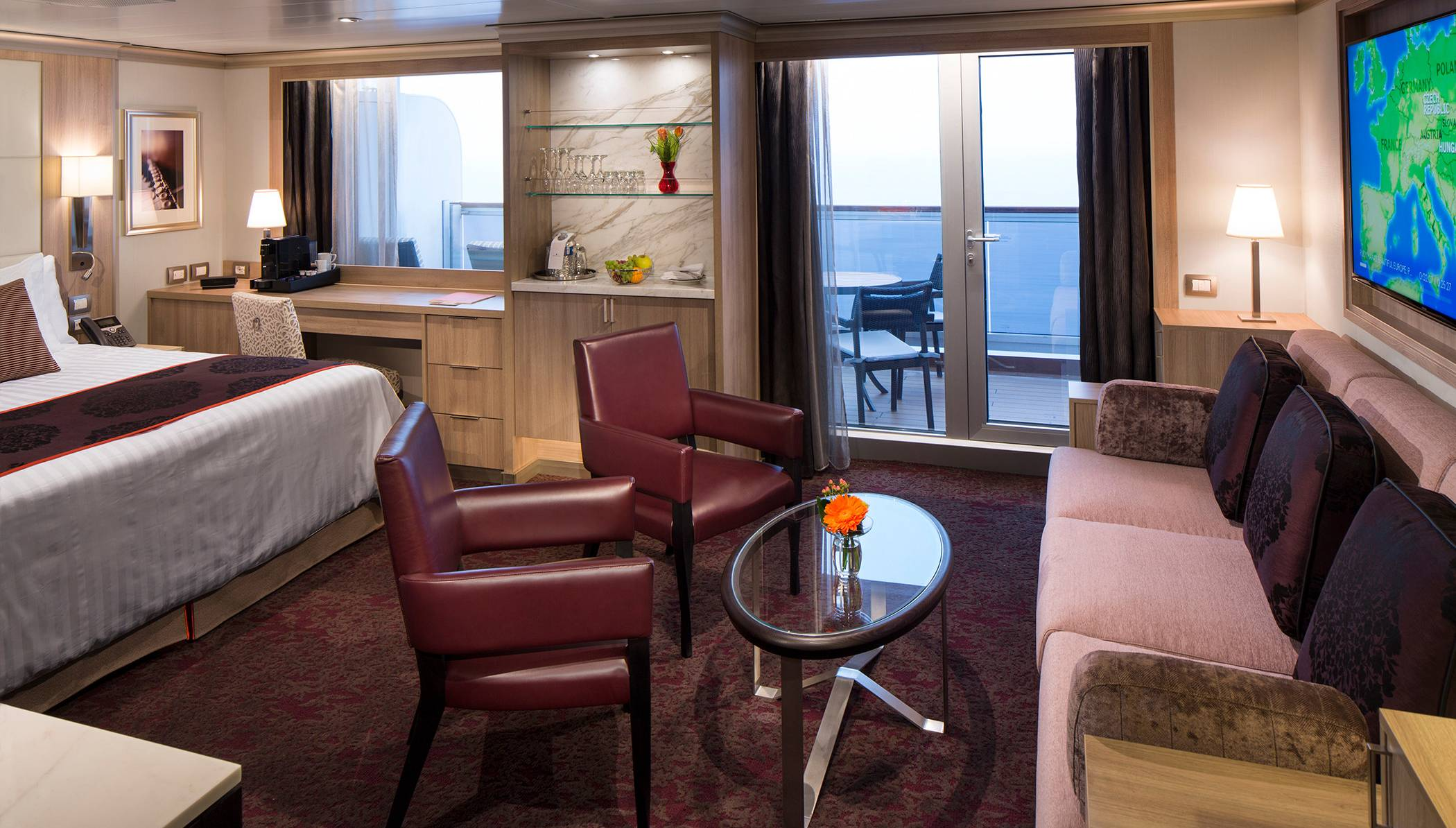Holland America Free Inside Stateroom With Veranda Or Suite Booking Seatrade Cruise Com