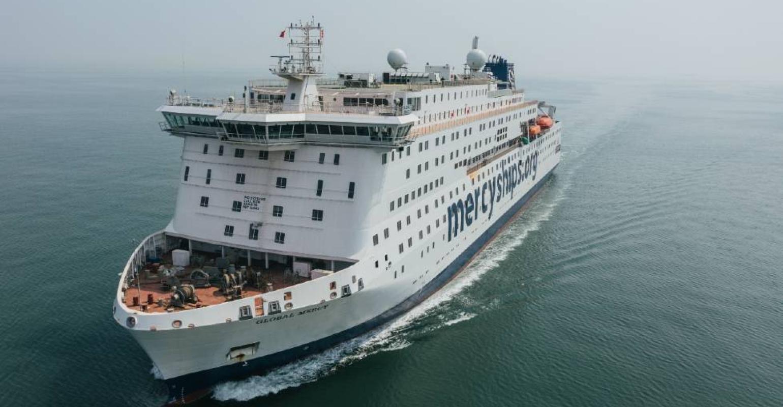World's largest civilian hospital ship Global Mercy sea trials    seatrade-cruise.com