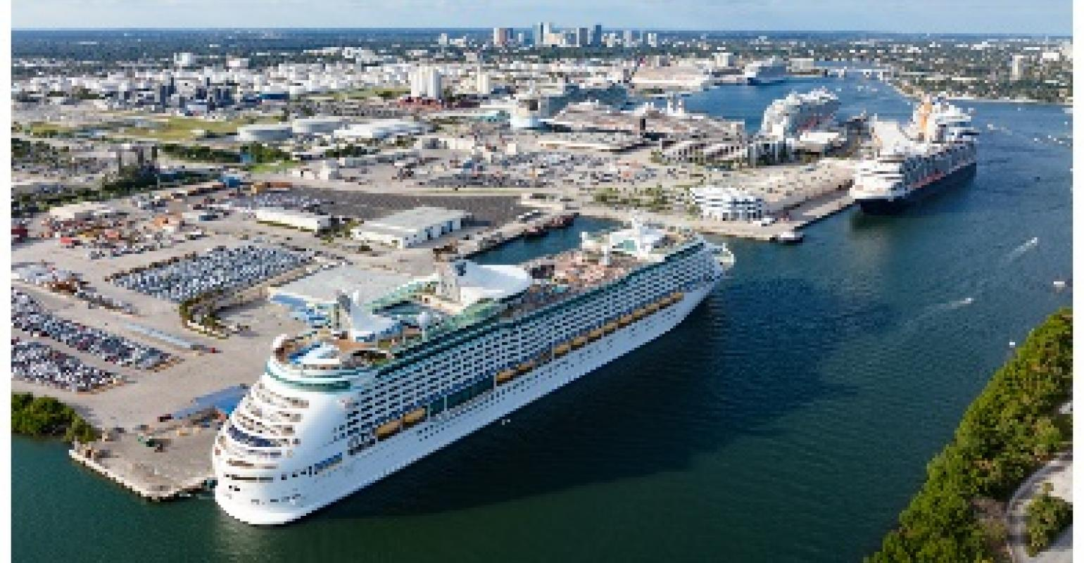 Port Everglades Cruise Schedule 2020.Port Everglades Tops Its Own World Record For Most