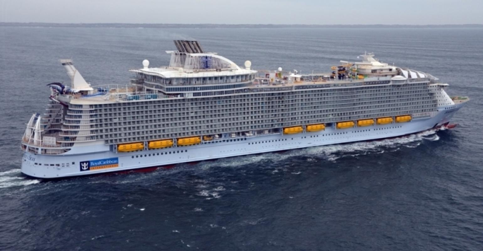 Behold The New World's Largest Cruise Ship