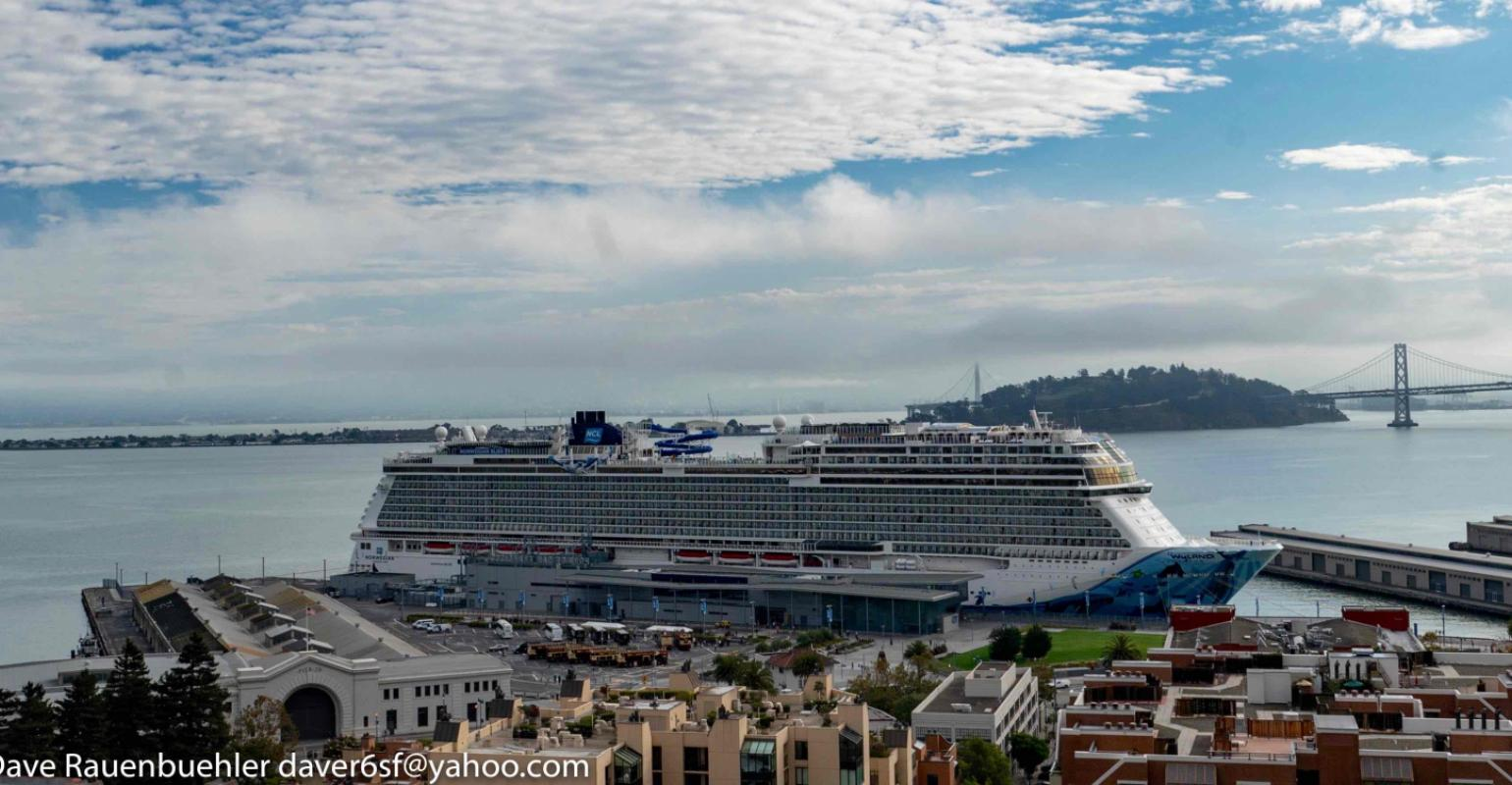 Norwegian Bliss Largest Cruise Ship To Call At San