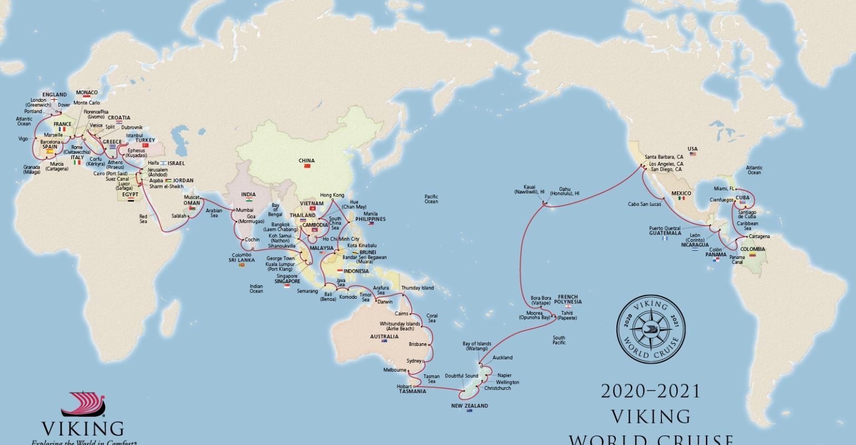 World Cruise 2020.2020 21 World Cruise Pays Viking S First Visit To Hawaii