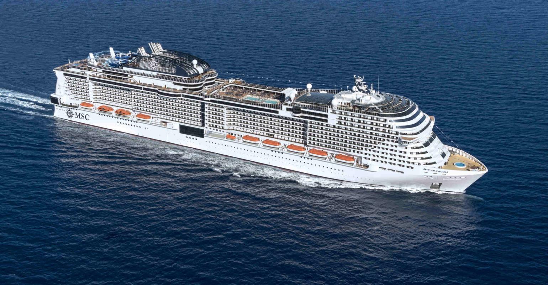 MSC Grandiosa floated out at Chantiers de l'Atlantique ...