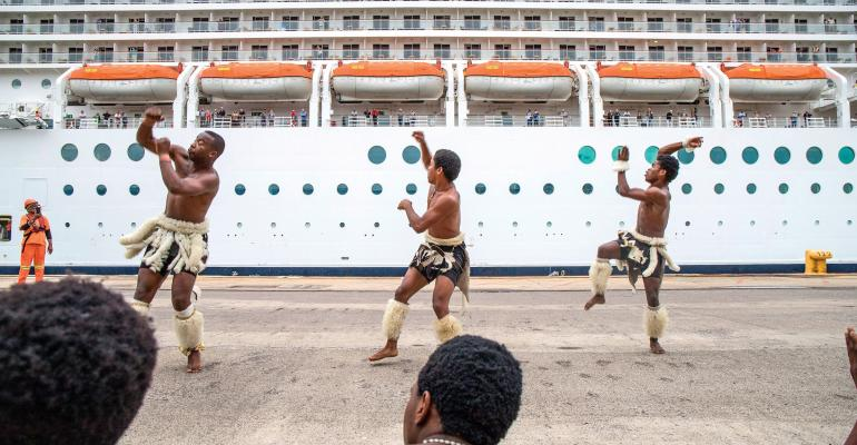 MSC Orchestra welcomed at Port of Durban