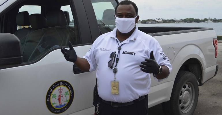 CRUISE Port of Palm Beach workers:masks.jpg