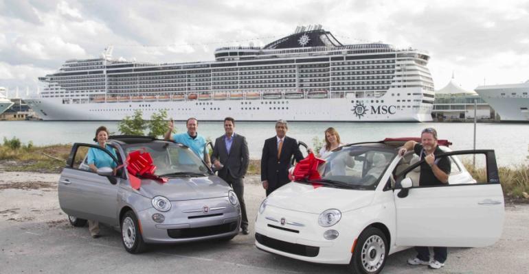 Jesus Aranguren /AP Images for MSC Cruises USA
