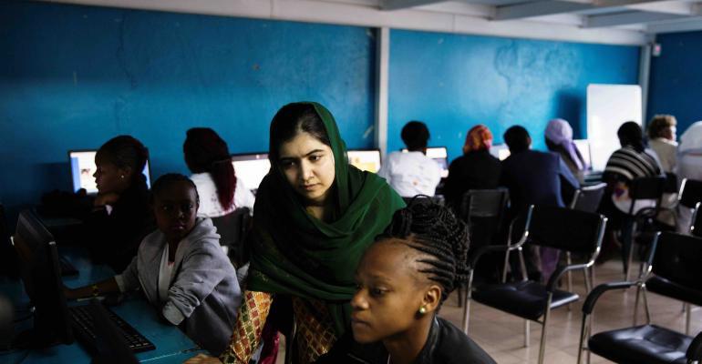 (Photo: Malin Fezehai/Malala Fund)