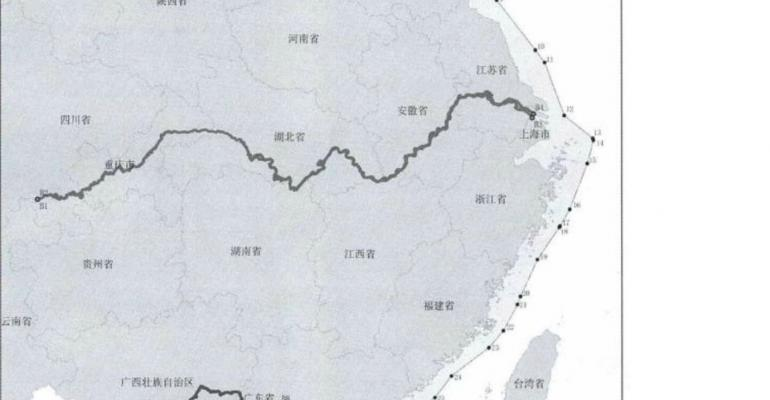 MAP: China's Ministry of Transport
