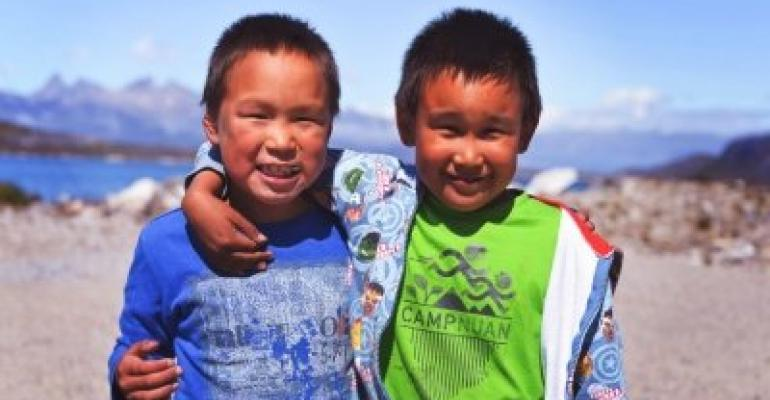 Hurtigruten Foundation supports local projects - vulnerable children in Greenland