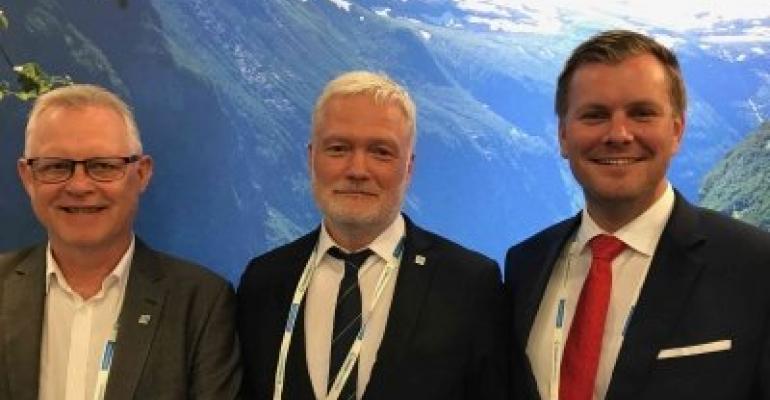 Leiv Leknes, Vigleik Dueland and Tore Gautesen