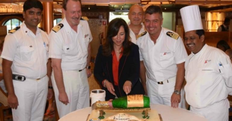 Christine Duffy 10 years sailing from Baltimore