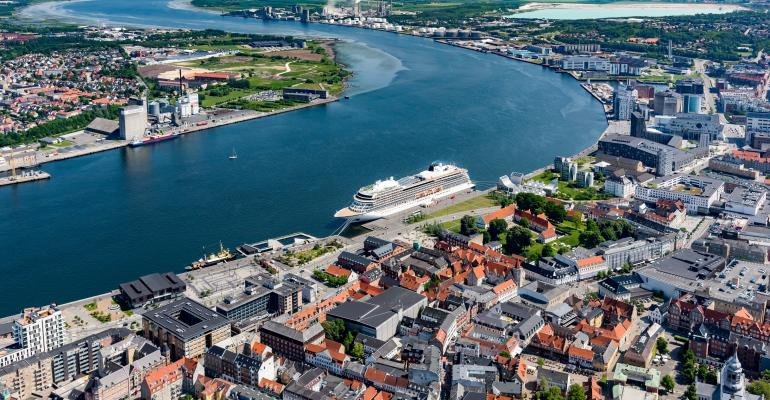 Port of Aalborg tackles over tourism with one cruise ship in port policy