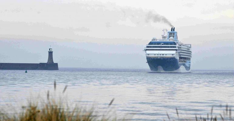 New baggage hanling facility for Marella Explorer at Port of Tyne-low