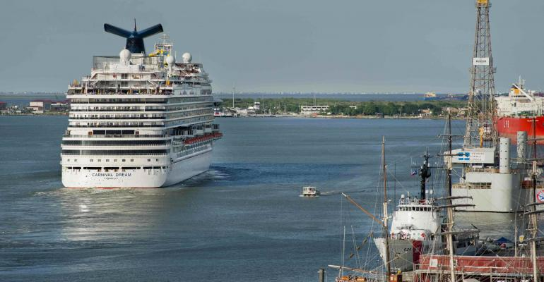 Carnival Cruise Ship Dreams Now Sail From Port of Galveston