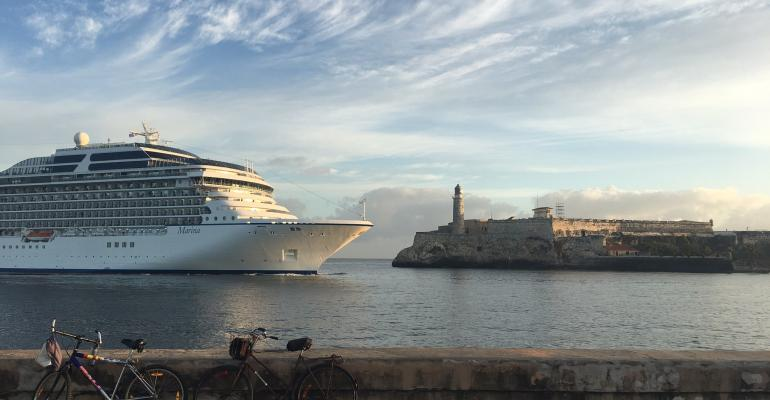 oceania cruises' marina in havana
