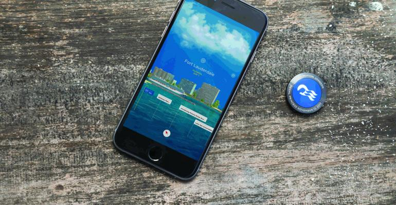 oceanmedallion and smartphone