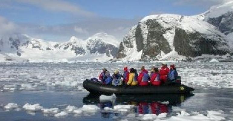antarctica zodiac exploration (photo - IAATO)