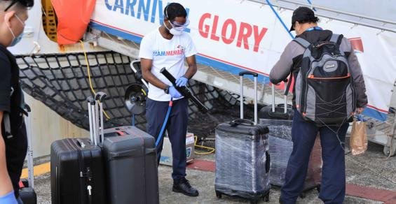 Panama isthmus transfer helps get Carnival crew home