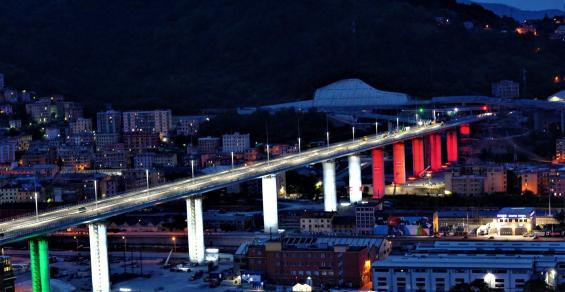 New Genova San Giorgio motorway bridge inaugurated