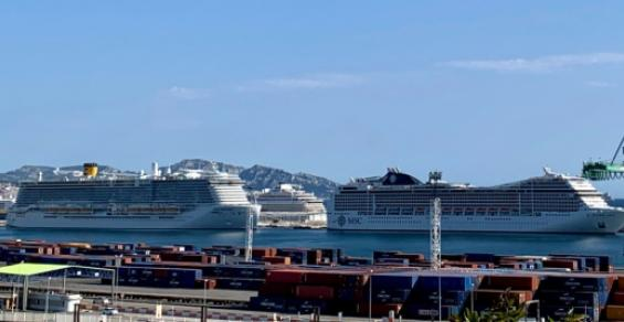 Shelter port Marseille ready to resume cruise activity