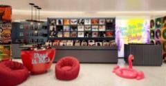 Virgins Scarlet Lady record shop