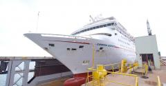 carnival ecstasy at grand bahama shipyard