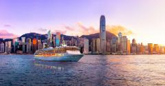 Hong Kong, China - East Asia, Victoria Harbour - Hong Kong,  Skyscraper