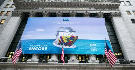 norwegian encore on the NYSE
